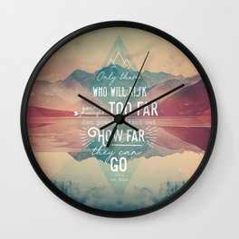 Adventure&Mountain Wall Clock