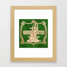 An Undead Favorite Framed Art Print