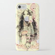 Bubble Gum Bandits iPhone 7 Slim Case