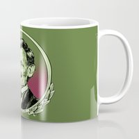 lincoln Mugs featuring Lincoln by Esteban Ruiz