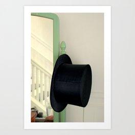Fred's Hat, Gingerly Art Print