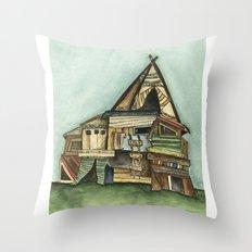 TePee Fort Throw Pillow