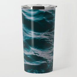 water waves Travel Mug