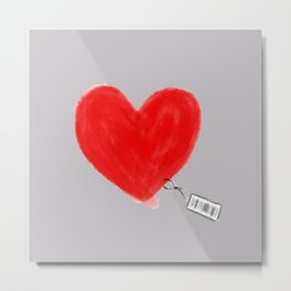 Heart for Sale Metal Print
