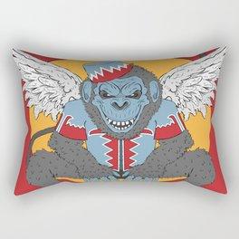 Winged Monkey Rectangular Pillow