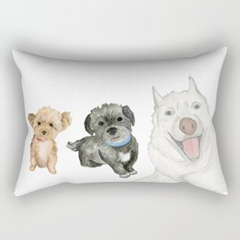 lucy max gibbs Rectangular Pillow
