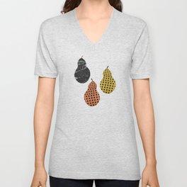 Pears Art Print Unisex V-Neck