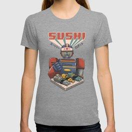 Super Sushi Robot T-shirt