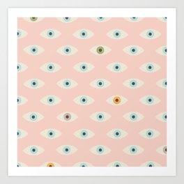 Thousand Eyes Art Print