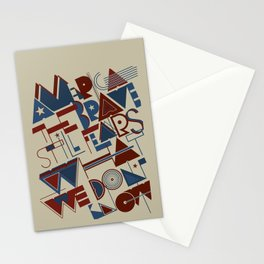 America the Brave Stationery Cards