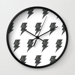 Thunder Stamped Wall Clock