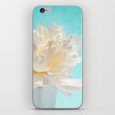 WHITE PEONY-DREAM iPhone & iPod Skin