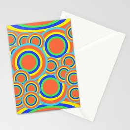 Mod - Colorful Circles Stationery Cards