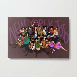 New York's JoJo Metal Print