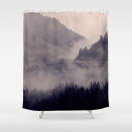 HIDDEN HILLS Shower Curtain