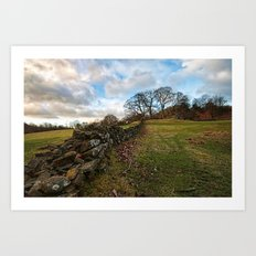 Cumbrian wall Art Print