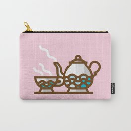 English Tea time Carry-All Pouch