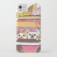 truck iPhone & iPod Cases featuring IceCream Truck by ShangheeShin