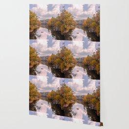 Fall Reflection Wallpaper