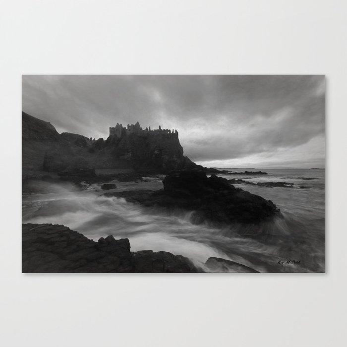 Evening at Dunluce Canvas Print