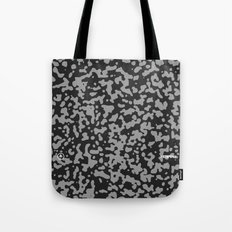 Comp Camouflage Pattern / Black Tote Bag