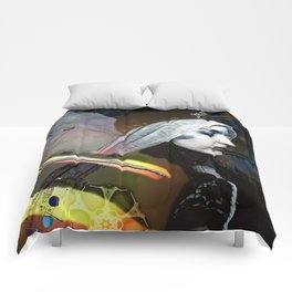 Saint Dymphna Reborn Comforters