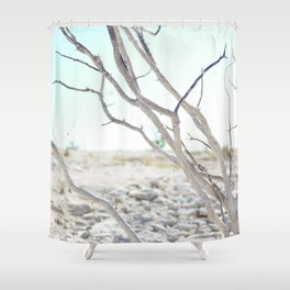 The Road to Marfa Shower Curtain