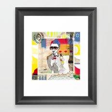 The Bachelor -  Célibataire  Framed Art Print