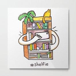 Shelfie Art Print! Metal Print