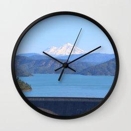 Mount Shasta and Shasta Lake Wall Clock