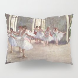 Ballet Rehearsal 1873 By Edgar Degas | Reproduction | Famous French Painter Pillow Sham