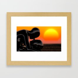 Still Believe In Love Framed Art Print