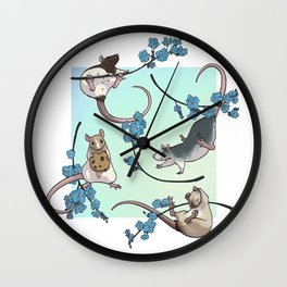 Forget Us Not Wall Clock
