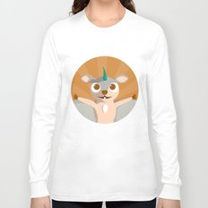 The Dino-zoo: Flying squirrel-saurus Long Sleeve T-shirt