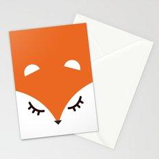 Fox minimal Stationery Cards