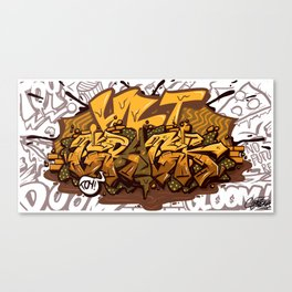 Me And Zoloft Get Along Together Canvas Print
