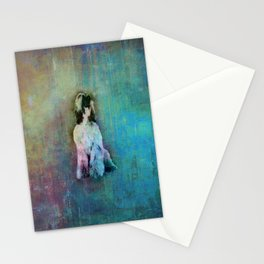 Afghan Hound  Sketch Paint Stationery Cards