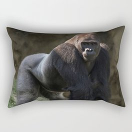 Gorilla Chief Rectangular Pillow
