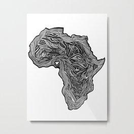 ROOTED (NIGERIA) Metal Print