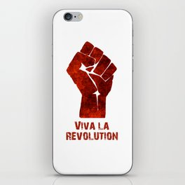 Viva La Revolution iPhone Skin