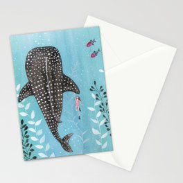 Whale shark! Stationery Cards