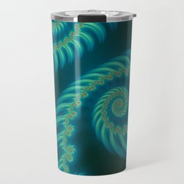 Entering the Vortex - Fractal Art Travel Mug