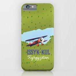 Issyk-Kul Kyrgyzstan lake iPhone Case