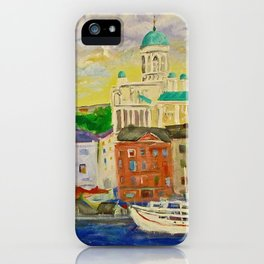 Impression Helsinki iPhone Case