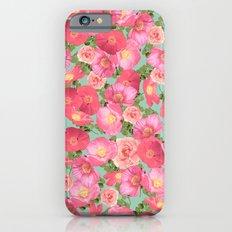 Flora Collage I iPhone 6s Slim Case