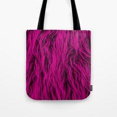 Magenta Wooly Carpet Tote Bag