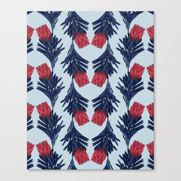 PROTEA IN COLUMBIA BLUE Canvas Print