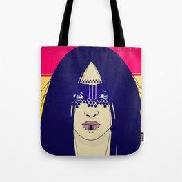 Tribal Lady Tote Bag