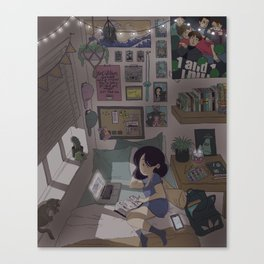 Ashley's Evening Canvas Print