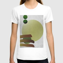 caged pea breaks free T-shirt